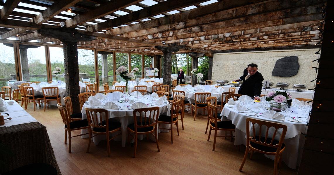 Belvedere Dining Room set up