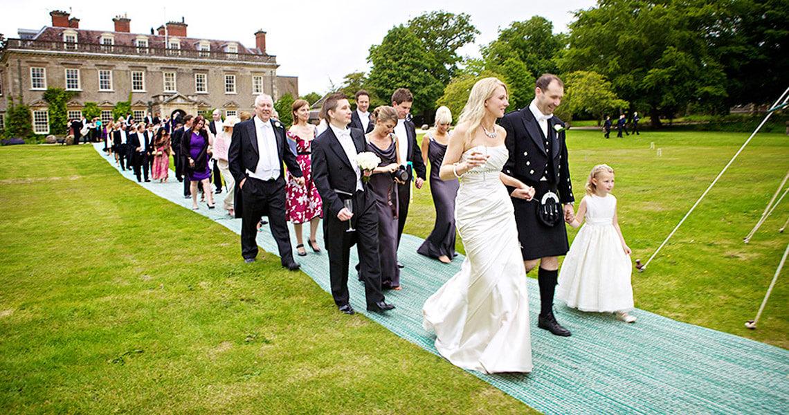 Wedding at Bradley House