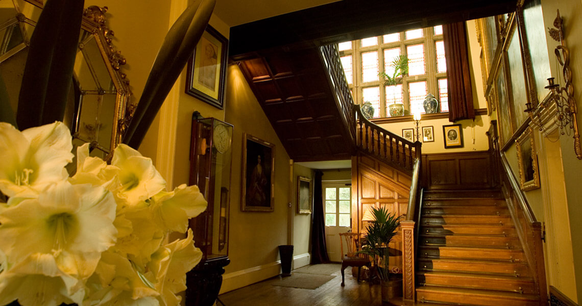 Bradley House interior
