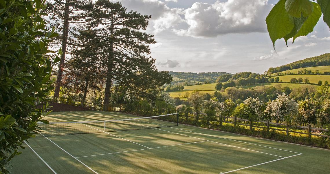Sheepscombe tennis court